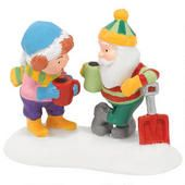 Java Warm Up - Department 56 North Pole village accessory - Bronner's CHRISTmas Wonderland - $20.00