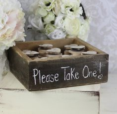Wedding Favors Wood Heart Magnets Inside Rustic Box (Item Number 140184) on Etsy, $150.00......    Magnets??