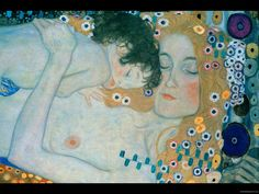 The Three Ages Of Woman by Gustav Klimt Handmade oil painting reproduction on canvas for sale,We can offer Framed art,Wall Art,Gallery Wrap and Stretched Canvas,Choose from multiple sizes and frames at discount price. Gustav Klimt, Klimt Art, Oil Painting Reproductions, Art Forms, Canvas Art Prints, Art Nouveau, Art Deco, Framed Art, Art Gallery