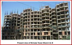 #SHRI Group March 21 2014  Present view of Nirmala Tower Block A & B
