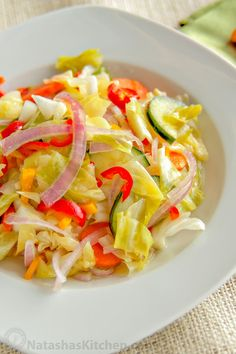 You must try this marinated vegetable salad with easy to follow step-by-step photo instructions. It was also perfect after 3 or 4 days in the fridge.