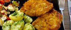 Kotlety schabowe w cieście czosnkowym - Blog z apetytem Snack Recipes, Snacks, Cauliflower, Food And Drink, Blog, Dinner, Vegetables, Cooking, Ethnic Recipes