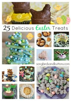25 Delicious Easter Treats - Kendall Rayburn Blog