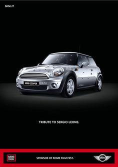 #MINI tribute to Sergio Leone.