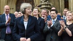 Where remaining Conservative candidate stands on immigration, human rights, equality and education Theresa May, Prime Minister, The Guardian, Human Rights, Equality, Britain, Believe, Politics, Social Equality
