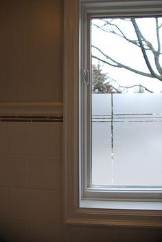 frosted glass for bathroom door