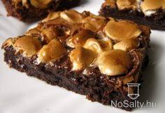 Mályvacukros brownie Flóra konyhájából