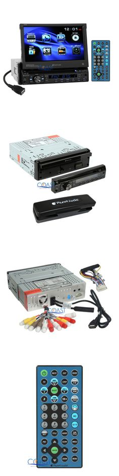 Dashboard Installation Kits: Planet Audio 7 Motorized Touchscreen Dvd Usb Bluetooth Car Stereo Receiver -> BUY IT NOW ONLY: $139.95 on eBay!
