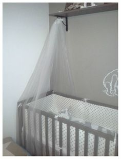 Made this from a veil Neutral Colors, Colours, Project Nursery, Veil, Cribs, Babe, Projects, Furniture, Home Decor