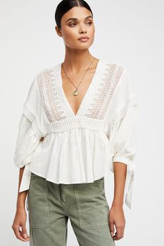 Shop our Drive You Mad Blouse at FreePeople.com. Share style pics with FP Me, and read & post reviews. Free shipping worldwide - see site for details.