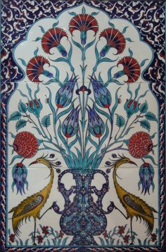 I love Turkish tiles                                                       …
