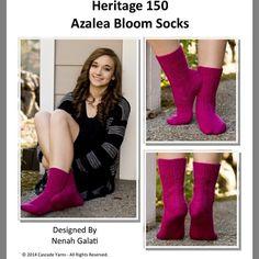 azalea bloom socks
