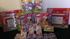 Toys to raise money which we sold on ebay