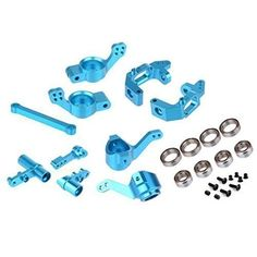 RC HSP 1/10 Upgrade Parts Alloy Knuckle Steering Hub Carrier Base C 102010 102011 102012 122057 Fit Redcat Monster Truck Buggy