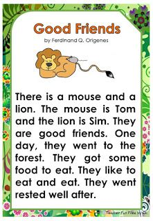 Teacher Fun Files: Reading English Poems For Kids, English Activities For Kids, Learning English For Kids, English Worksheets For Kids, English Lessons For Kids, Learn English Words, English Fun, Reading Comprehension For Kids, Phonics Reading