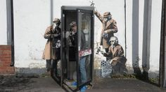 Banksy 'Spy Booth' Mural Reduced To Rubble On Construction Site