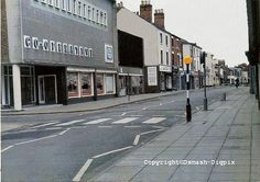 A view of Beeston High Road Before it was pedestrianised. Nottingham City, Local History, Family History, High Road, History Photos, Past, In This Moment, Places, Pictures