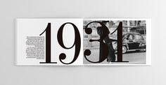 Cristobal Balenciaga - Esto merece ser contado on Behance #design #diseño #layout #graphicdesign