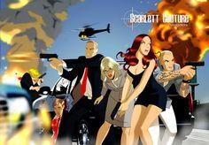 DESPOP ART & COMICS: SCARLETT COUTURE- Fashion Spy Adventure!