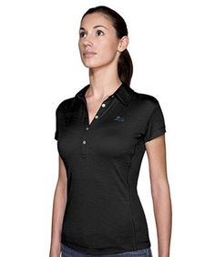 Icebreaker Club Polo Black (IBQ793-001) S, L, XL | Polo shirts korte mouw | MOOSECAMPwebshop