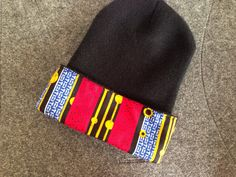 A personal favorite from my Etsy shop https://www.etsy.com/listing/259610715/ankara-beanie