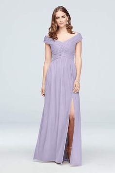 Full Length Purple Dress