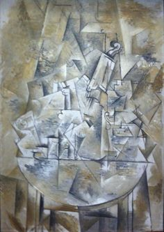 George Braque - Composition, 1912