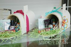 add a mailbox to your child's room to leave treats, gifts, notes, and not just for holidays but just because too!