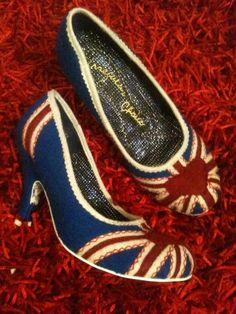 Cute Union Jack shoes!