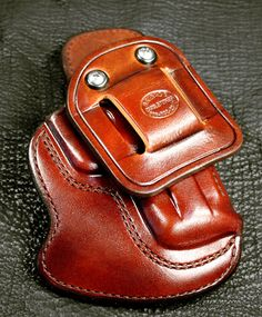 Brigade Gun Leather IWB custom holster
