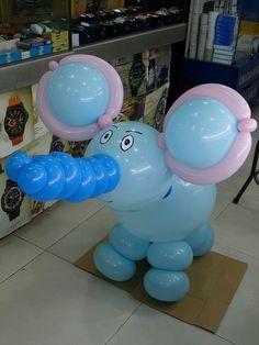 Mascotă Elephant Balloon, Balloon Animals, Balloon Arrangements, Balloon Centerpieces, Baby Shawer, Balloon Columns, Event Planning, Birthday, Party