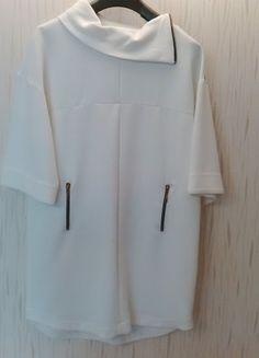 Kup mój przedmiot na #vintedpl http://www.vinted.pl/damska-odziez/krotkie-sukienki/13760678-biala-prosta-sukienka-zara