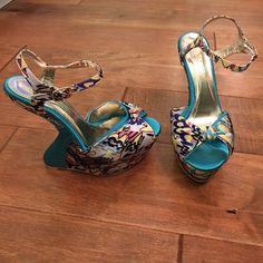 Spotted while shopping on Poshmark: LILIANA ANKLE STRAP WEDGES! #poshmark #fashion #shopping #style #Liliana #Shoes
