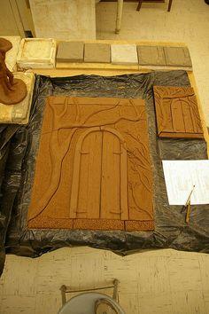 Denise Joyal, Big tile & small tile by Niso30, via Flickr