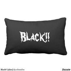 Black!! (eliso) almohadas