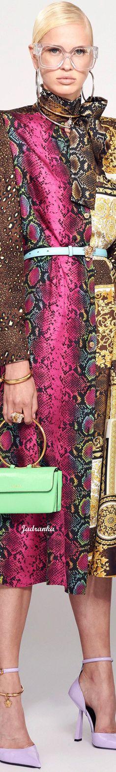 Animal Fashion, Versace, Sequin Skirt, Designers, Sequins, Couture, Skirts, Walkways, Skirt