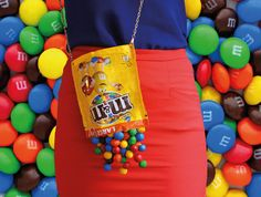 M&M's clutch bag by rommydebommy on Etsy https://www.etsy.com/listing/228132375/mms-clutch-bag