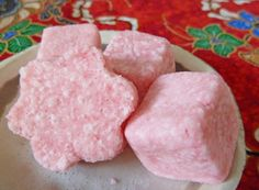 These bath bombs are great when you want to use soap or candy molds to make the very pretty bath bombs. They are great for gifts, absolutely extravagant!