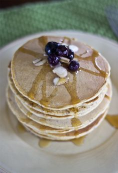 Gluten-Free Almond Flour Pancakes - Natural Sweet Recipes