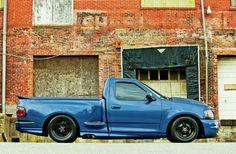 I quite simply prefer this color for this %%KEYWORD%% Hot Rod Trucks, Mini Trucks, Cool Trucks, Ford Lighting, Svt Lightning, Ford Svt, Ford Pickup Trucks, F150 Truck, Future Trucks