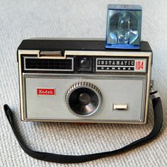 1965 Vintage Kodak Instamatic 104 camera. $10.00, via Etsy.