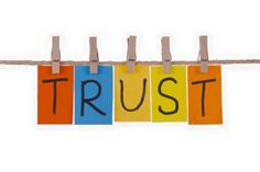 A requirement for business and relationships. People want proof that they can trust someone. But, as the saying goes....trust is earned. Sometimes you need to give trust to earn it.