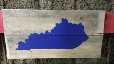 Kentucky Pallet Art.