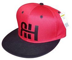 Red Hat with Black RH Logo - BlacKHefner.com