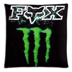"16x24 16""x24"" 40x60cm bedding pillow cases covers Cotton - Polyester Comfort Sleep Safe camo fox racing famous top?brand logo"