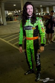 2012 St Pete: James Hinchcliffe starring as Danica Patrick - There are no words.