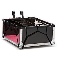 the bike crate - original - with pink cargo mat