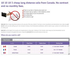 1010 103 provides cheap local and international long distance phone calling services to Bell and Videotron customers all over the province of Quebec. 10 10 Local & international long distance phone calls are available by dialling 1010 10-3 before your long distance call. Cheap international long distance calls from Montreal to Italy, France, USA, Algeria, Lebanon. Haiti, Philippines and many other international long calling destinations worldwide.