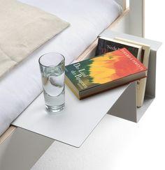 Sengebord i aluminium