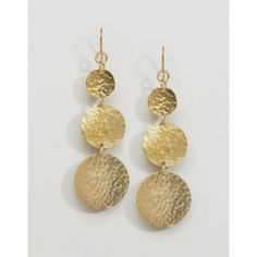 Made Mathiuri Earrings ($20) ❤ liked on Polyvore featuring jewelry, earrings, gold, made jewelry, african earrings, made jewellery, african jewellery and lemon earrings